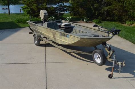Duck Boat Outboard by 2005 Tracker Grizzly 1860 Sc 60 Hp Mercury Outboard