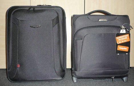 easyjet reduit la taille des bagages cabine