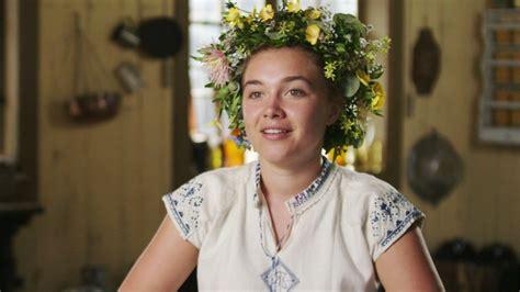 florence pugh reveals  filming midsommar