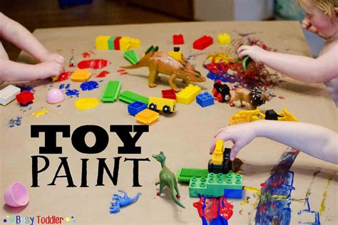 8 play date activities busy toddler 214 | painttoys2IGTEXT