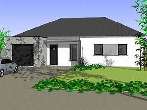 Maison Plain Pied En L : innvoconstruction maisons plain pied ~ Melissatoandfro.com Idées de Décoration
