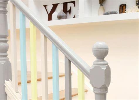 Treppengeländer Streichen Metall by Treppengel 228 Nder Streichen In Verschiedenen Ombre Farben