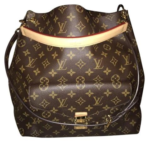 louis vuitton lv monogram metis hobo shoulder bag tradesy
