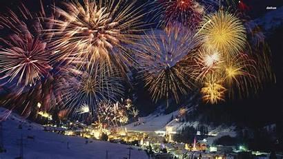 Happy Fireworks Desktop Wallpapers Years Backgrounds Austria