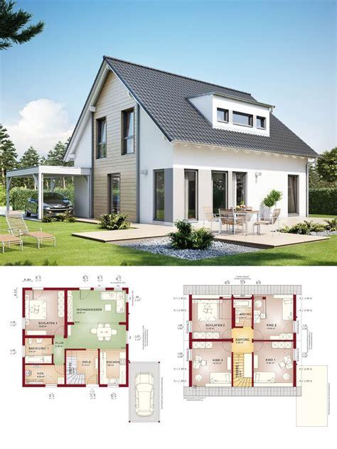 Moderne Häuser Mit Gauben by Einfamilienhaus Neubau Satteldach Architektur Mit Gaube