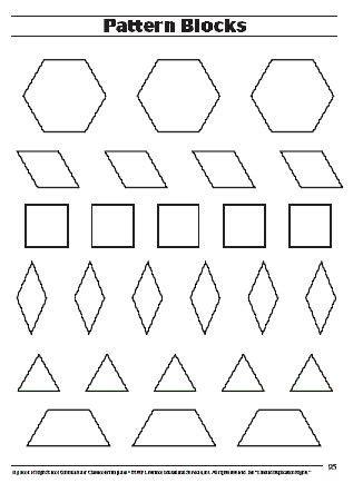 pattern block templates peerpex