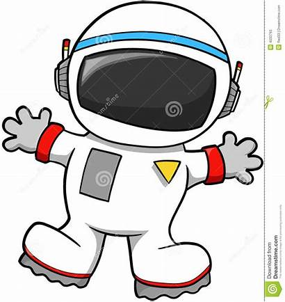 Astronaut Clipart Clip Spaceman Vector Suit Space