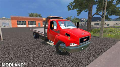 GMC Flatbed mod for Farming Simulator 2015 / 15   FS, LS