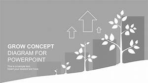 Growth Concept Diagram Powerpoint Template