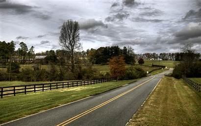 Usa Country Road Desktop Wallpapers Zastavki Roads