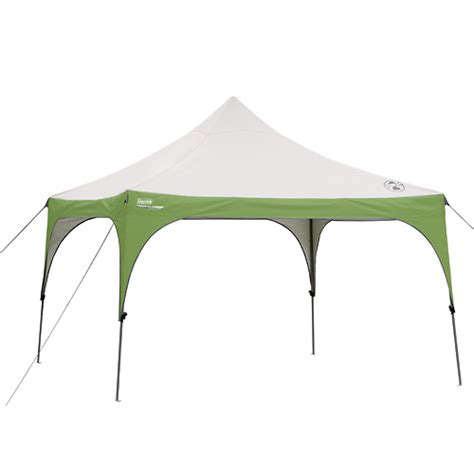 coleman  instant sun shelter canopy campingcomfortably