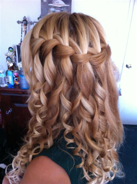 Hairstyles With Braids And Curls by Homecoming Hairstyles Hairstyles For