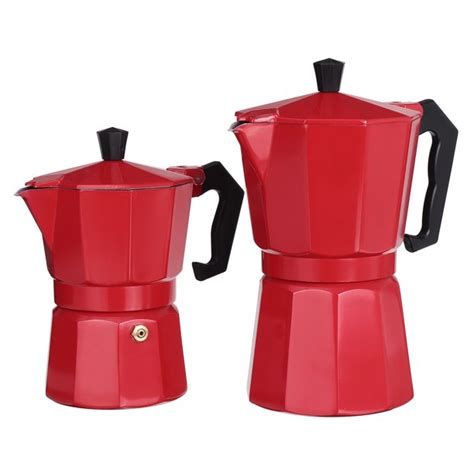 Choose from a sleek black, stainless steel or even modern metallic red. 150/300ML Stovetop Coffee Maker , Stove Top Italian Espresso Maker Percolators Coffee Pot ,Drip ...
