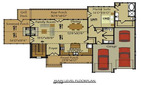 cottage floorplans cottage house floor plans cottage house