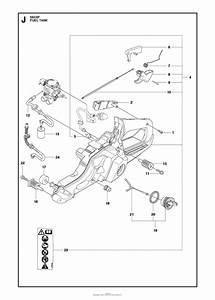 Husqvarna 550 Xp  Xpg Parts Diagram For Fuel Tank