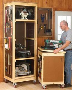 Power Tool Storage Rack woodworking stand