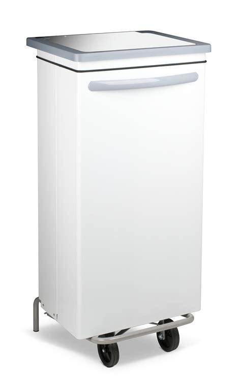 poubelle cuisine 100 litres poubelle cuisine blanche haccp carénée 100 litres