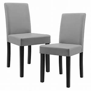 Moderne Stühle Esszimmer : 2x moderne esszimmer st hle kunst leder polster stuhl hochlehner ebay ~ Markanthonyermac.com Haus und Dekorationen