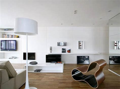 Modern Minimalist Design Of Living Room
