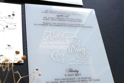 vinas invitaton custom wedding invitation indonesian