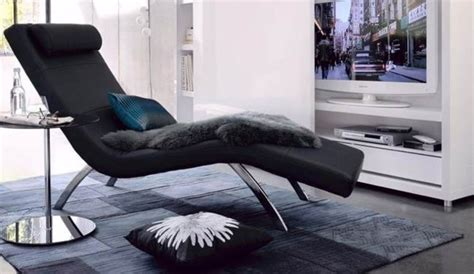chaise salon design chaise longue salon design