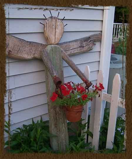 Angel Tumbleon Rustic Country Garden Pinterest