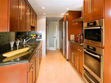 how to design a galley kitchen galley kitchen designs hgtv 8611
