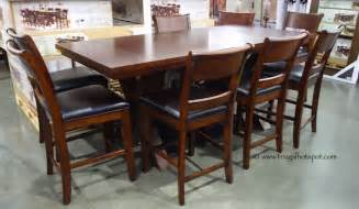 costco dining room sets costco hillsdale furniture 9 pc counter height dining set 1 149 99 frugal hotspot