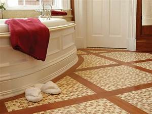 stone tile bathroom floors hgtv With cool bathroom floor tile to improve simple home
