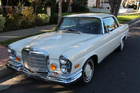 1970 Low Grille 280se W111 Coupe Beautiful Condition