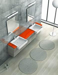 Tapis De Bain Rond : le tapis de bain un accessoire moderne et pratique ~ Teatrodelosmanantiales.com Idées de Décoration
