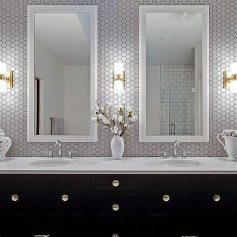 bathroom vanity backsplash ideas top 70 best bathroom backsplash ideas sink wall designs