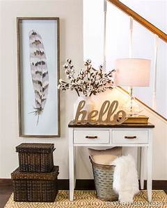 Say, U0026quot, Hello, U0026quot, To, Guests, With, A, Warm, And, Welcoming, Entryway