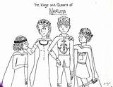 Coloring Narnia Pages Chronicles Planet Adult Popular sketch template