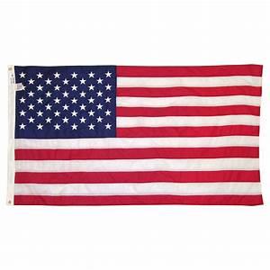 American Flag 3' x 5' Sewn Nylon - Valley Forge Flag