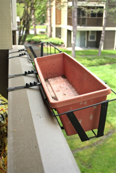 rail hanging planters mastering compact gardening country cleaver
