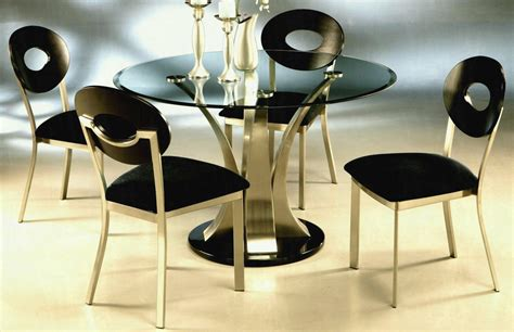 luxury  black glass dining table plaisirsquotidienscom