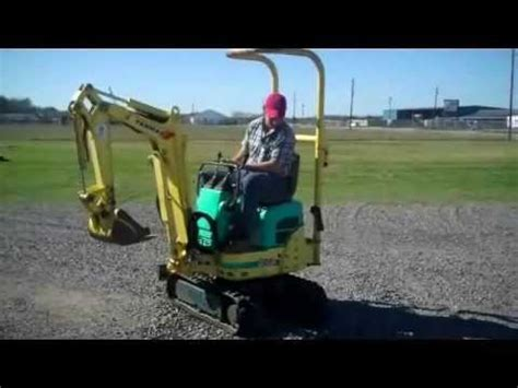 mini excavator  sale  unreserved auction inv youtube