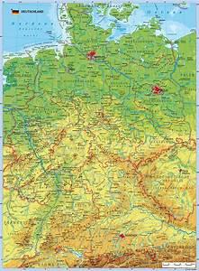 Deutschland Physische Karte : deutschlandkarte bilder ~ Watch28wear.com Haus und Dekorationen