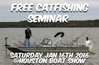 Houston Boat Show January 2018 by Uncategorized Catfish Edge Cutting Edge Catfishing