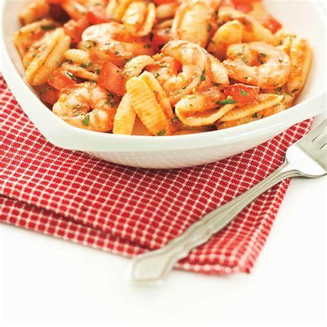 p 226 tes aux tomates et aux crevettes ricardo