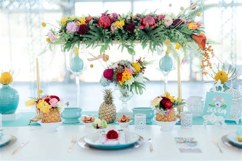 Decorating Themes : Gorgeously Whimsical Tropical Wedding Ideas