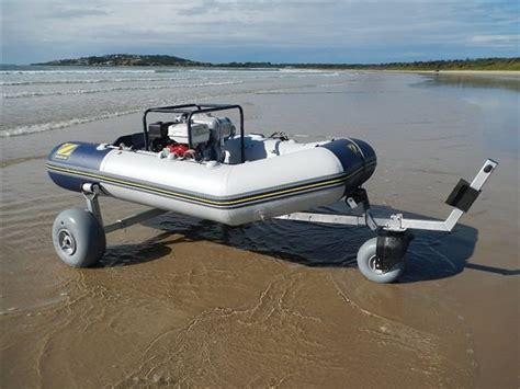 Boat Trailer Wheels And Tires Australia by Boat Dolly Third Wheel Kit Beachwheels Australia
