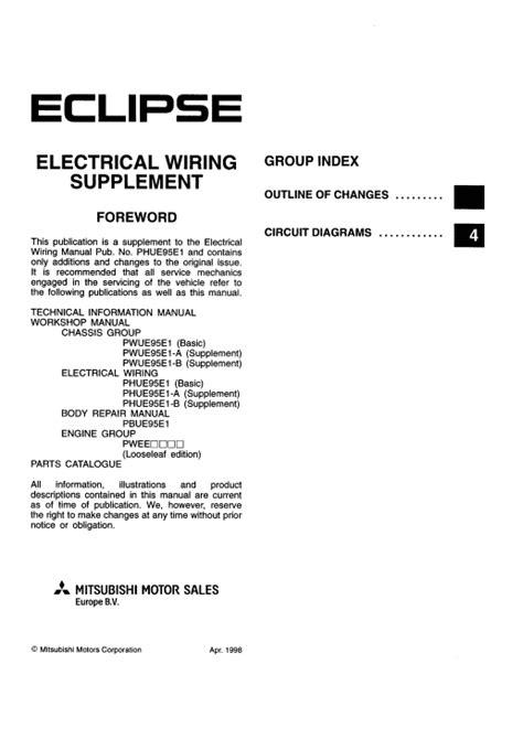 Wiring Diagrams Free Manual Ebooks Mitsubishi