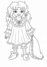 Coloring Princess Bella Colorkid Princesses sketch template