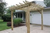 building an arbor Pergolas, Arbors And Garden Structures - Building Our Farm ...