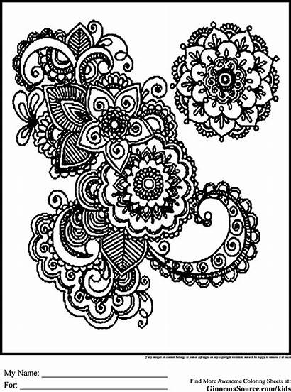 Coloring Pages Older Hard Advanced Colouring Adults