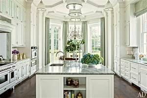 kitchen hardware for a classic white kitchen laurel bern With kitchen cabinet trends 2018 combined with thomas kinkade wall art