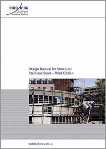 Design Manual For Structural Stainless Steel  U2013 Third