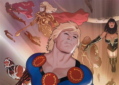 Marvel Planning An Eternals Movie For Phase Four
